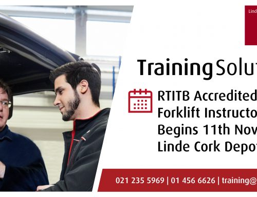 JUST ADDED: RTITB Forklift Instructor Course Cork – 11/11/2019