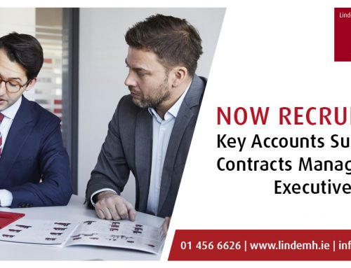 Now Hiring: Key Account Support / Contracts Management Executive